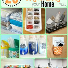 20 Brilliant Hacks for Organizing Your Home