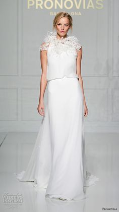 7a7ad549f35d1 Pronovias 2016 Wedding Dresses — New York Bridal Runway Show