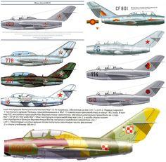 MiG-15UTI Profiles