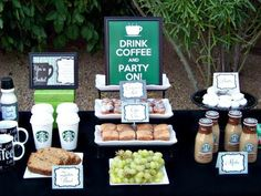 Or, have a DIY coffee bar. | 18 Things Every Starbucks Addict Needs To Have At Their Wedding