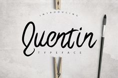 Quentin Typeface Lite from FontBundles.net; on GDrive