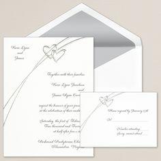 Soaring Hearts Wedding Invitation | #exclusivelyweddings