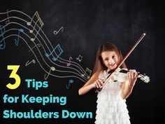 When we play the violin both shoulders have a tendency to tighten up and cause negative issues in our playing. Here are 3 tips to help your students gain awareness in their shoulders and keep their violin playing healthy.