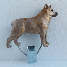 Australian-Stumpy-Tail-Cattle-Dog-Red-Show-Ring-Clip-Dog-Breed-Jewellery-Resin