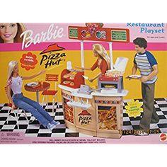 This item Barbie Pizza HUT Restaurant Playset (2001)