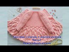 Cardigan crochet for kids video tutorial Kids Knitting Patterns, Knitting For Kids, Crochet For Kids, Knitting Designs, Crochet Designs, Crochet Baby, Knit Crochet, Baby Cardigan, Baby Pullover