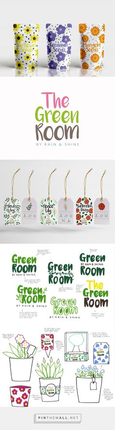 The Green Room seeds by Leah Duery. Source: Bechance. Pin curated by #SFields99 #packaging #design #inspiration #ideas #product #branding #seeds #creative