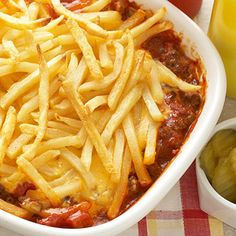 Cheeseburger and Fries Casserole