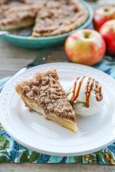 Amazing Crumb-Topped Sour Cream Apple Pie.