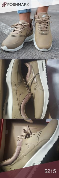 Nike Air Max Thea Premium Desert Camo Nike Air Max Thea Premium | Desert Camo | Womens US Size 12/UK 9.5 | Only worn once | With original box | as seen on kendall jenner. | Extremely rare Nike Shoes