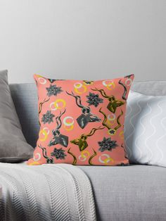 'Kudu & Succulent Abstract' Throw Pillow by Amanda D-Hay Amanda D-Hay amandadhay For the love of a throw pillow . Redbubble & Amanda D-Hay amandadhay 'Kudu & Succulent Abstract' Throw Pillow by Amanda D-Hay For the love of a thro Abstract Throw Pillow, Redbubble, Pillows, Pillow Design, Throw Pillows, Floor Pillows, Designer Throws, Vibrant Colors, Patterns In Nature