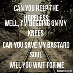 Lyric Art of Can You Feel My Heart by Bring Me the Horizon