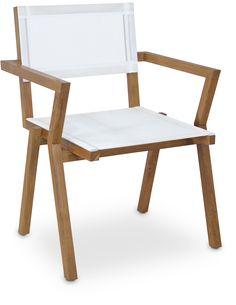 HaWé Outdoor #armchair #teak #teakhout #chair #outdoor #furniture #garden #tuin #buiten #buitenleven #exterior #tuinmeubelen #buitenmeubelen www.leemwonen.nl www.haweoutdoor.nl www.ayanaoutdoor.nl