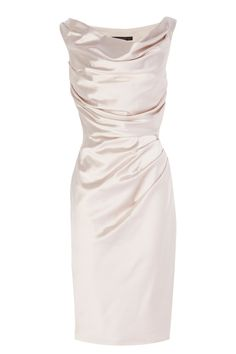 New In | Naturals MANDA DUCHESS SATIN DRESS | Coast Stores Limited #KneeLengthSkirts