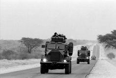 -Koevoet Patrol near Rundu , -1988 !