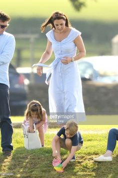 Princess Charlotte of Cambridge attends the Maserati Royal Charity Polo Trophy at Beaufort Park on June 10, 2018 in Gloucester, England. (Photo by Karwai Tang/WireImage)