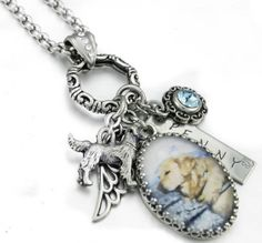 Dog, Cat, Pet Memorial Necklace, would love this with a picture of my boy Diesel!! ❤️
