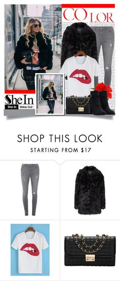 """Shein 10 (III)"" by aida-banjic ❤ liked on Polyvore featuring Oris, Dorothy Perkins, Topshop, women's clothing, women, female, woman, misses, juniors and shein"