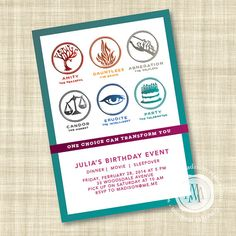 Divergent Party Themed DIY Printable Invitation by MargotMadison, $12.95