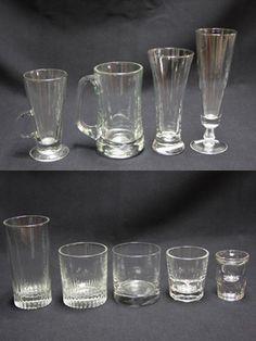 BAR GLASS GLASSWARE SHOT