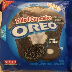 Nabisco vowed to stop the Oreo flavor leaks, but it looks like they're back! This flavor appears to be. chocolate and creme filling. That's not actually a flavor, but the theme is a filled chocol. Weird Oreo Flavors, Cookie Flavors, Cupcake Flavors, Filled Cupcakes, Oreo Cupcakes, Oreo Cookies, Yummy Cookies, Oreo Desserts, Delicious Desserts