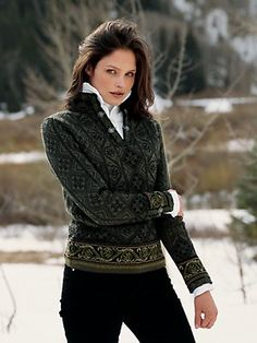 Norwegian Women | voss sweater norwegian sweaters women Gorsuch - Stylehive