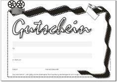 Gutschein Film, Kino, Video