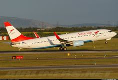 Austrian Airlines OE-LNS Boeing 737-8Z9 aircraft picture