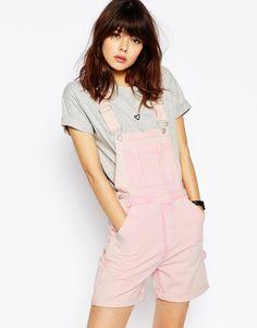 Pink overalls!