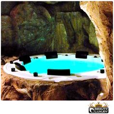 The SPA... in the Stone! #Hottub #spa #BL831 http://www.beauty-luxury.com/en/hot-tub-spa-bl831-p-9.html