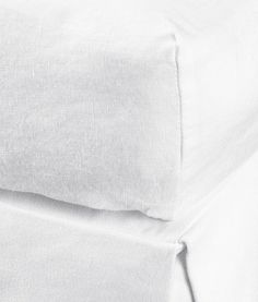 Fitted Linen Sheet | Product Detail | H&M