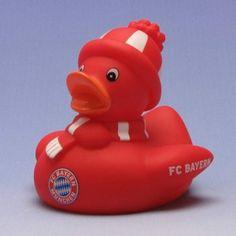 Duckshop - der Shop für Badeente und Quietscheentchen - Bayern München Badeente Fan