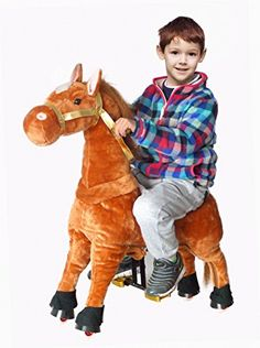 "UFREE Horse, Action Pony, Walking Horse Toy, Giddy up Go Go Go for Kids Aged 3-5 Years Old, Rocking Horse Plush Fur, Really Go with Wheels,Height 35""  http://www.bestdealstoys.com/ufree-horse-action-pony-walking-horse-toy-giddy-up-go-go-go-for-kids-aged-3-5-years-old-rocking-horse-plush-fur-really-go-with-wheelsheight-35/"