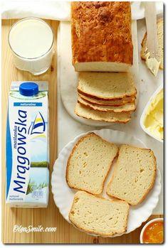 Bezglutenowy chleb z maślanką Mrągowską