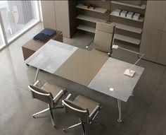 Marble & Porcelain Office Desks : dcagencies