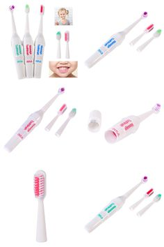 [Visit to Buy] Battery Operated Electric Toothbrush/Tooth Brush Electronic Toothbrushes For for Children Kids Oral Hygiene Teeth Whitening #Advertisement