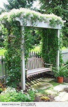 Cozy Outdoor Swing Ideas Gardens Yards and Backyard