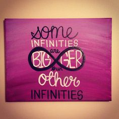 The Fault In Our Stars Quote Canvas Painting; I love the spontaneity of the canvas paintings plastered down hallways. To be left to others interpretation just as your own.