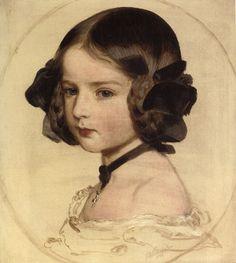 Franz Xavier Winterhalter, Princess Clothilde von Saxen Coburg, 1855