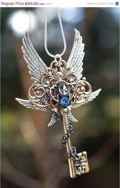 Wings and sapphire
