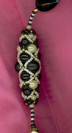 La Macouria Beaded Bead Pattern - FREE - From Bead Magic #heartbeadwork