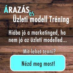 Árazás és Üzleti modell Tréning Online Marketing