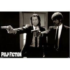 Pulp Fiction Poster Print, 36x24 Movie Poster Print, 36x24 $0.92
