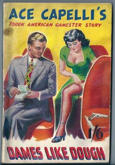 Dames Like Dough. Pulp cover.