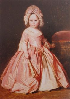 Princess Alice of the United Kingdom, later Grand Duchess of Hesse, by Franz Xaver Winterhalter.