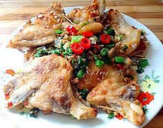椒鹽魚下巴食譜、作法 | Feng Lin的多多開伙食譜分享