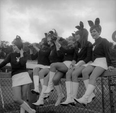 Vintage Playboy bunnies from way back when (50 Photos) : theCHIVE