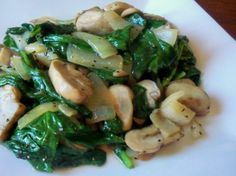 Creamed+spinach+with+mushrooms+and+onions Recipes