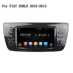Android  5.1.1 2 Din Audio Video Stereo GPS Navigation With Radio RDS Wifi 3G 4G Car Multimedia Player For Fiat DOBLO 2010-2014