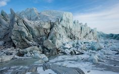 The Russell Glacier near Kangerlussuaq, Greenland. (Photo: Olaf Otto Becker for The New York Times)